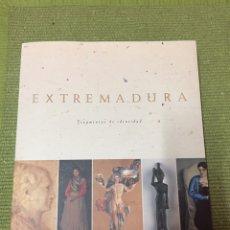 Libros: EXTREMADURA. FRAGMENTOS DE IDENTIDAD. GUERREROS. SANTOS. ARTESANOS. ARTISTAS (1998). Lote 222714663