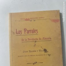 Libros: LOS PARRALES DE LA PROVINCIA DE ALMERIA EDICION FACSIMIL 1902. Lote 222841051