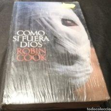 Livros: COMO SI FUERA DÍOS - ROBIN COOK. Lote 224006601