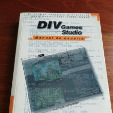 Livres: DIV GAMES STUDIO. MANUAL DE USUARIO. HAMMER TECHNOLOGIES.. Lote 224315975