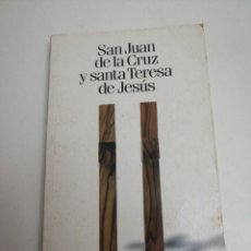 Livres: SAN JUAN DE LA CRUZ Y SANTA TERESA DE JESÚS.. Lote 224510418