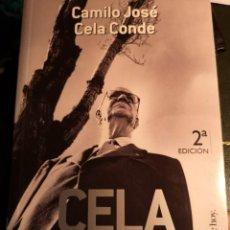 Libros: CELA, MI PADRE AUTOR: CAMILO JOSE CELA CONDE *EDITORIAL: TEMAS DE HOY. Lote 224521313