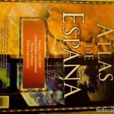 Libros: ATLAS DE ESPAÑA Y ATLAS MUNDIAL 9 TOMOS ESPASA CALPE NUEVO. Lote 225452190