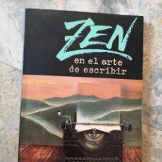 Libros: ZEN EN EL ARTE DE ESCRIBIR RAY BRADBURY. Lote 226288310