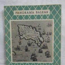 Libros: PANORAMA BALEAR LA DOMINACIÓN BRITÁNICA EN MENORCA. Lote 226935050