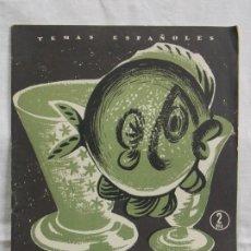 Libros: TEMAS ESPAÑOLES LOS VIDRIOS. Lote 226939605