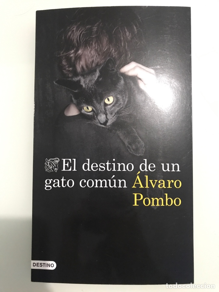 EL DESTINO DE UN GATO COMÚN, ÁLVARO POMBO. EDICIONES DESTINO-COLECCIÓN ANCORA Y DELFÍN. (Libros nuevos sin clasificar)