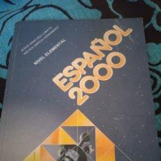 Libros: LIBRO .ESPAÑOL 2000. APRENDE ESPAÑOL.280 PÁGINAS.. Lote 228008435