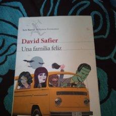 Libros: DAVID SAFIER. UNA FAMILIA FELIZ. SEIX BARRAL . BIBLIOTECA FORMENTOR. Lote 228012590