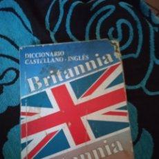 Libros: DICCIONARIO CASTELLANO INGLÉS. BRITANNIA.. Lote 228012755