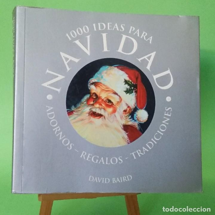 1000 IDEAS PARA NAVIDAD - LIBRO ILUSTRADO - PEARSON - IDEAL PARA REGALO - NUEVO (Libros nuevos sin clasificar)