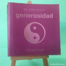 Libros: MIL VIAS HACIA UNA VIDA EN PAZ - LIBRO ILUSTRADO - PEARSON - IDEAL PARA REGALO - NUEVO. Lote 251298055
