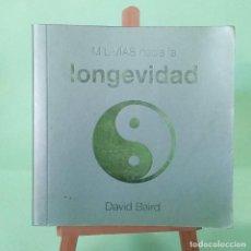 Libros: MIL VIAS HACIA LA LONGEVIDAD - LIBRO ILUSTRADO - PEARSON - IDEAL PARA REGALO - NUEVO. Lote 228193650