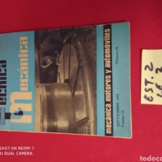 Libros: TÉCNICA MECÁNICA N.44 AÑO 1962. Lote 228415960