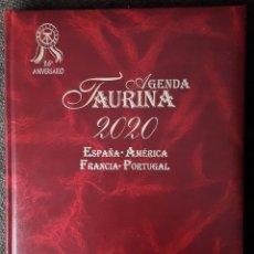 Libros: AGENDA TAURINA 2020. Lote 228576450