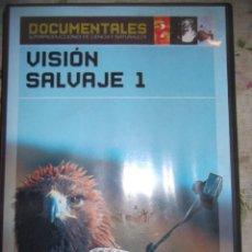 Libros: DVD VISIÓN SALVAJE 1. Lote 229297925