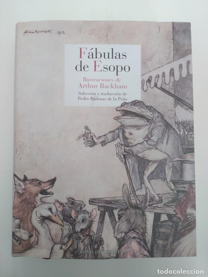 FÁBULAS DE ESOPO. ILUSTRACIONES DE ARTHUR RACKHAM. -NUEVO (Libros nuevos sin clasificar)