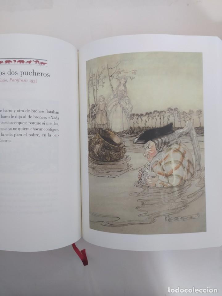 Libros: FÁBULAS DE ESOPO. ILUSTRACIONES DE ARTHUR RACKHAM. -NUEVO - Foto 3 - 229518355