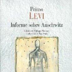 Libri: INFORME SOBRE AUSCHWITZ - LEVI, PRIMO.. Lote 229781550