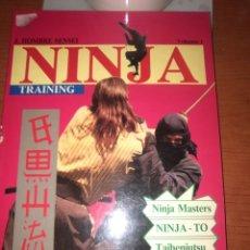 Libros: NINJA TRAINIG-LIBRO MUCHAS FOTOS AÑO 1992-MUCHAS FITOS-. Lote 229903320