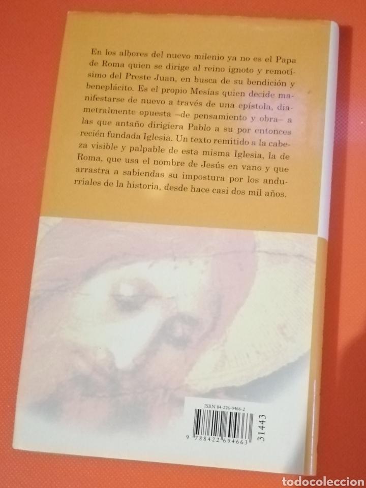 Libros: LIBRO CARTA DE JESÚS AL PAPA FERNANDO SÁNCHEZ DRAGÓ - Foto 2 - 230093885