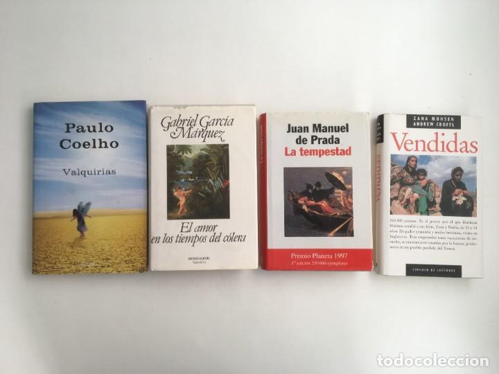NARRATIVA-MELODRAMAS (4 VOL.), VENDIDAS-VALQUIRIAS-EL AMOR EN TIEMPOS DEL CÓLERA -LA TEMPESTAD (Libros nuevos sin clasificar)