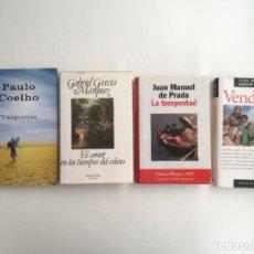 Libros: NARRATIVA-MELODRAMAS (4 VOL.), VENDIDAS-VALQUIRIAS-EL AMOR EN TIEMPOS DEL CÓLERA -LA TEMPESTAD. Lote 230311200
