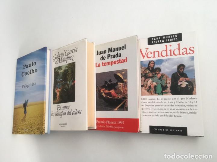 Libros: Narrativa-Melodramas (4 Vol.), Vendidas-Valquirias-El amor en tiempos del cólera -La tempestad - Foto 2 - 230311200