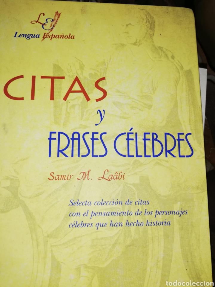 LIBRO DE CITAS CÉLEBRES POR SAMIR M. LAABI (Libros nuevos sin clasificar)