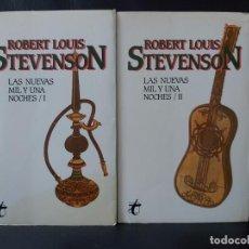 Libros: STEVENSON . LAS NUEVAS MIL Y UNA NOCHES ÁRABES. 2 VOLS. Lote 231029215