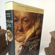 Livres: EL ENIGMA GOYA - AYLLON, MANUEL. Lote 233091610