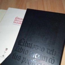 Libros: 'EL BALADRO DEL SABIO MERLÍN CON SUS PROFECÍAS' FACSÍMIL DOS TOMOS EDICIONES TREA. Lote 233790775