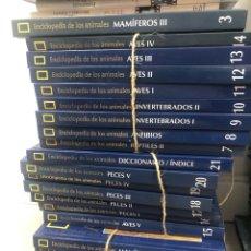 Livres: NATIONAL GEOGRAPHIC ENCICLOPEDIA DE LOS ANIMALES COMPLETA. Lote 235695720