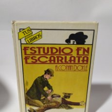 Libros: ANAYA TUS LIBRO POLICIACOS.ESTUDIO EN ESCARLATA.A.CONAN DOYLE, 1°EDICIÓN 1982. Lote 235851800