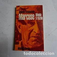 Libros: MARCUSE. UTOPÍA Y RAZÓN ESCOHOTADO, ANTONIO 11. TAPA BLANDA DE EDITORIAL ILUSTRADA. SIN SUBRAYADOS.. Lote 236297700