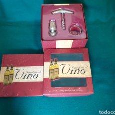 Libros: LIBRO Y ACCESORIOS DE VINO. Lote 236801860
