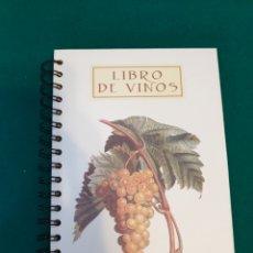 Libros: LIBRO DE APUNTES DE CATA DE VINO. Lote 236805865