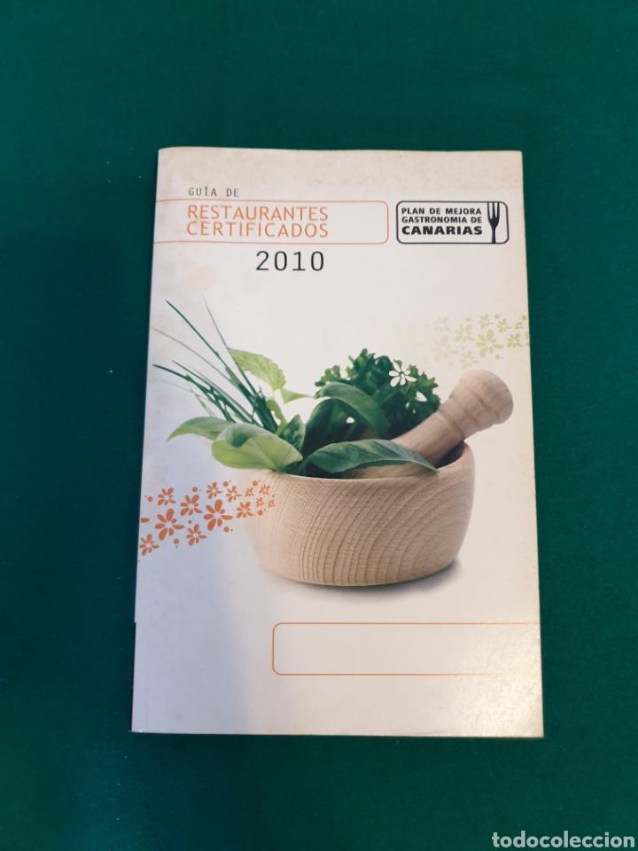 GUÍA DE 2010 RESTAURANTES DE TENERIFE (Libros nuevos sin clasificar)