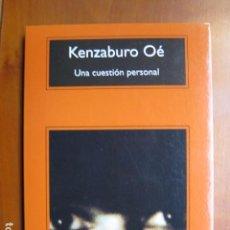 Livros: LIBRO - UNA CUESTION PERSONAL - ED. ANAGRAMA - KENZABURO OE - NUEVO. Lote 236992370