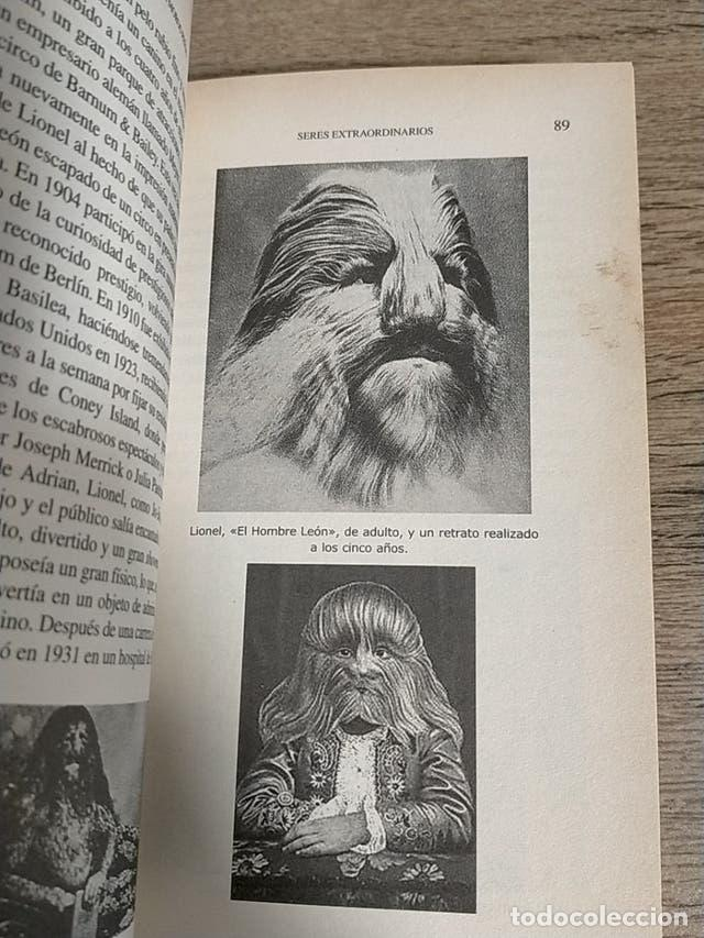 Libros: Seres Extraordinarios - Anomalías Rarezas Humanas - Freak Show - Foto 5 - 237196890