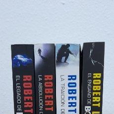 Libros: ROBERT LUDLUM POR ERIC VAN LUSTBADER 4 TITULOS COMPLETO. Lote 239508875