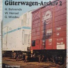 Libros: ARCHIVO DE VAGONES 2 (GÜTERWAGEN-ARCHIV 2) AÑO 1989 288 PAGINAS EN BUEN ESTADO. Lote 239911645