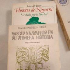 Libros: DOS LIBROS SOBRE NAVARRA. Lote 240188825
