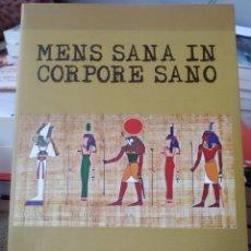 Libros: MENS SANA IN CORPORE SANO. REVERTER ESTÉVEZ, MATEO.. Lote 242226695