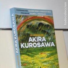 Libros: EL LEGADO DE AKIRA KUROSAWA COORDINADO POR ALVARO PEÑA E IGNACIO P. RICO - APPLEHEAD OFERTA. Lote 244411225