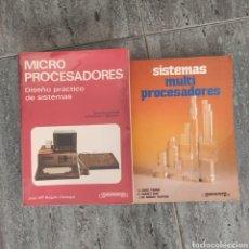 Libros: MICRO PROCESADORES + SISTEMAS MULTI PROCESADORES DE PARANINFO. Lote 244842050