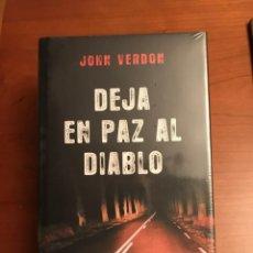 Libros: DEJA EN PAZ AL DIABLO. DE JOHN VERDON.. Lote 245100020