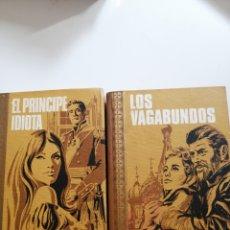 Libros: EL PRÍNCIPE IDIOTA. FEDOR DOSTOIEVSKI.LOS VAGABUNDOS. MÁXIMO WORK. GRANDES OBRAS.. Lote 245195910
