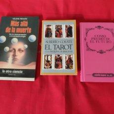 Libros: ANTIGUOS LIBROS EL TAROT. Lote 246085875
