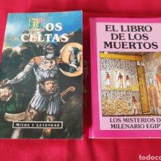Libros: ANTIGUOS LIBROS LOS CELTAS. Lote 246086585